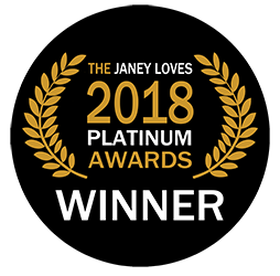 janey loves 2018 platinum awards